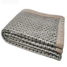 2014 super soft 100% pure wool blanket