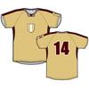 Cheap football uniform ,custom soccer jersey manufacture ,new design soccer shirt