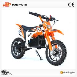 500W electric cheap mini kids dirt bike (KXD-706E)