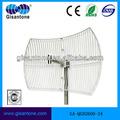 4g lte 2500-2700mhz 24 carré. dbi antenne parabolique