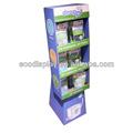 loja de merchandising papel ondulado lavanderia fornece suporte de chão