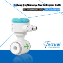 wafer type water flow meter sensor