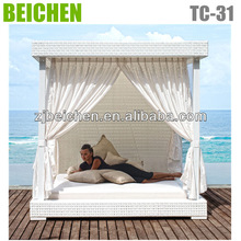 outdoor rattan sofa sets KD style ound rattan outdoor bed no nude gallery