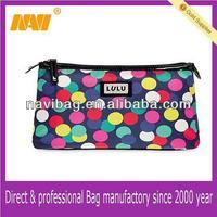 new style whimsical polka-dot cosmetic bag( NV-CSP0111)