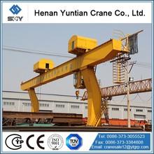 Competitive Price Single Girder Rails Traveling Gantry Crane