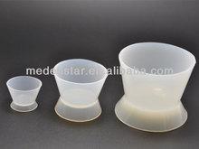 2015 caliente venta! silicona Dental tazas para mezclar muchos tamaños DMD07