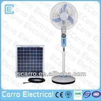 Hot sale double-duty 12v ac/dc battery power ventilation fan