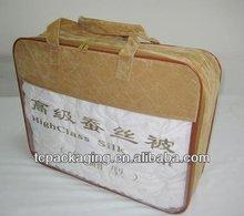 luxury quilt packaging bag