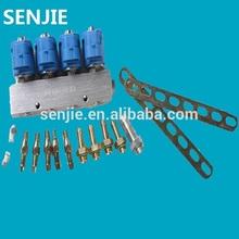 /gnc glp del inyector de combustible/inyector de ferrocarril/4 cyl inyector de ferrocarril