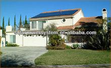2012 Bestsun high efficiency 3000w solar battery powered floodlights