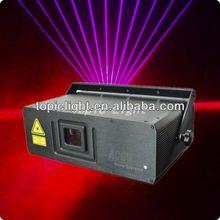Super Brightness Dustproof Design ACCU 1W RGB stage laser light show