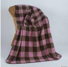 2014 Best selling print fleece blanket knitted cashmere baby blanket