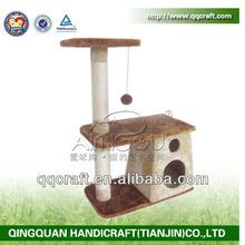 QQ04 discount popular cat product & cat scratching post & cat furniture
