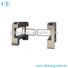 High Quality bridge single pole stainless steel swing barrier gate