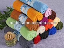 2014 hot sale colorful microfiber towel quick dry microfiber towel