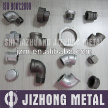 black and galvanized a wide range of malleable iron pipe fitting manufacturer