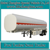 3 Axles Steel Aluminum oil tanker trailer diesel tanker