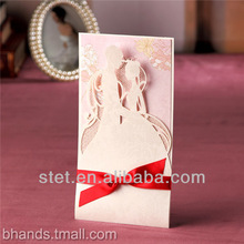 Wedding Invitation Cards Laser Cut Paper Craft