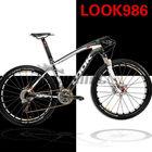 29er frame mountain bike Look 986 Carbon Mountain MTB Bike Frame, carbon mtb frame 3k with carbon stem