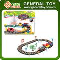 Niños coches de juguete pista de carreras, Juguete del coche del ferrocarril, Juguete eléctrico pista de carreras