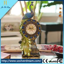 Resins vintage decorative antique cheap digital desk clock