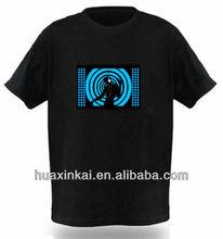 2014 latest innovative led light t-shirt