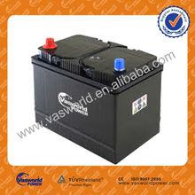 JIS 55d26r 12v 60ah car batteries scrap price