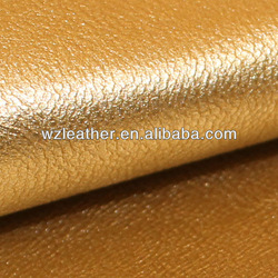China Wenzhou PU Emboss Synthetic Leather for shoe
