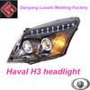 Haval H3 angel eyes headlight