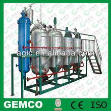 Peanut crude cooking oil refinery machine