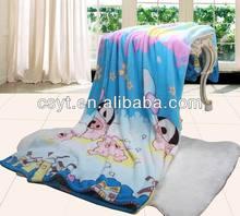 soft polyester children coral fleece blankets