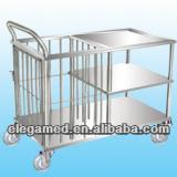 Stainless steel bed nursing car type II