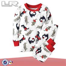 Toddler Boys' 2-Piece cotton Printed Dinosaur Pajamas
