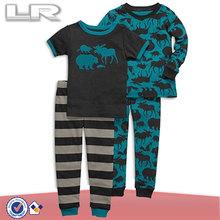 Kids' Pajamas, Toddler Boys 4-Piece Cotton PJs