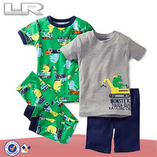 Toddler Boys' Monsters Fitted 100%cotton Pajamas