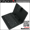 2014 New universal wireless bluetooth keyboard leather tablets case
