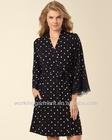 New 2014 Cheep Women Lace Pajamas Pop Over Top Wonderous Dot