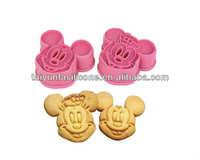 Cartoon plastic bulk cookie cutters