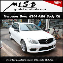 New product china supplier amg Type Body Kit for Mercedes Benz C-class 2011 up W204