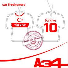 World Cup Paper Car Fresheners Turkiye