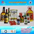 personnalisé de promotion et de formation des étiquettes de bouteille