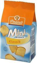 Brandt Mini Rusks, 105g.