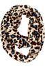 lion skin print scarves