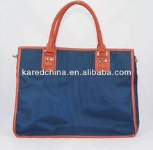 2013 bule high quality conference bags computer bag polyester laptop bag woman lady handbag