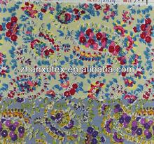 100% 40s cotton printed poplin fabric for garment