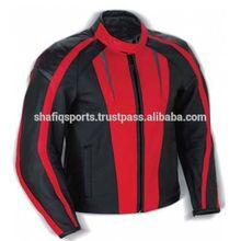 Motosiklet dana derisinden ceket/erkek yarış deri ceket