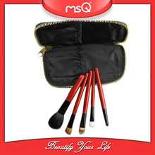 MSQ 5pcs Red Convenient Salon Professional Brush