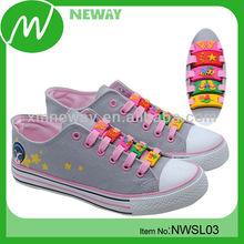 various design fashion PVC custom logo shoelace charm