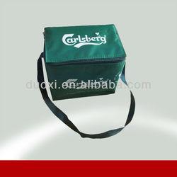Shoulder lunch bag Aluminum Foil shop hot sale wine bottle cooler bags