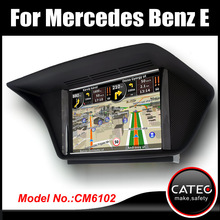 In car fm radio dvd gps navigation bluetooth touch screen head unit for mercedes benz E 250 W212